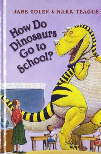 How Do Dinasaurs Go To School?