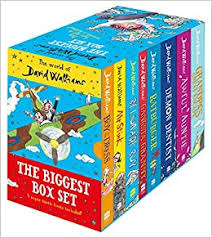 THE WORLD OF DAVID WALLIAMS: BIGGEST BOX SET