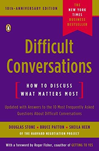 Difficult Conversations : How