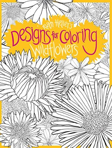 Designs For Coloring Wildflowers