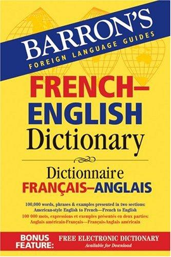Barron's French Eng Dic(Foreign.Lan.G.)