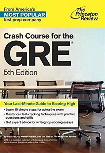 Crash Course for the GRE, 5th