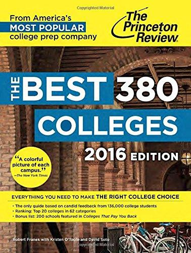 The Best 380 Colleges, 2016 Ed