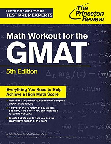 Math Workout for the GMAT, 5th
