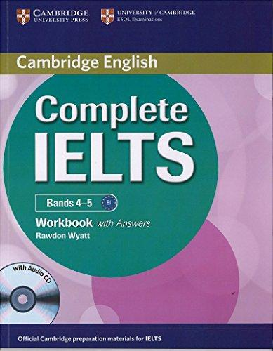 Complete Ielts Bands 4 - 5 Work Book With Audio Cd