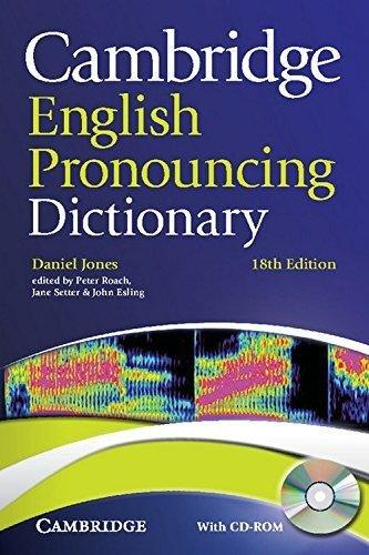 Cambridge English Pronouncing Dictionary With Cd