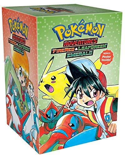 POKEMON ADVENTURES (FIRE RED & LEAF GREEN, EMERALD) BOX SET Vol. 23-29