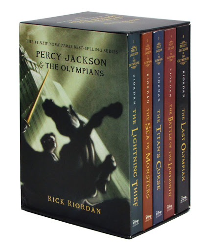 Percy Jackson And The Olympians 5 Books Set