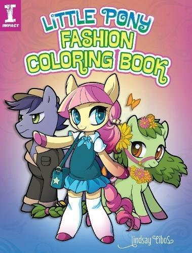 Little Pony Fashion Coloring B