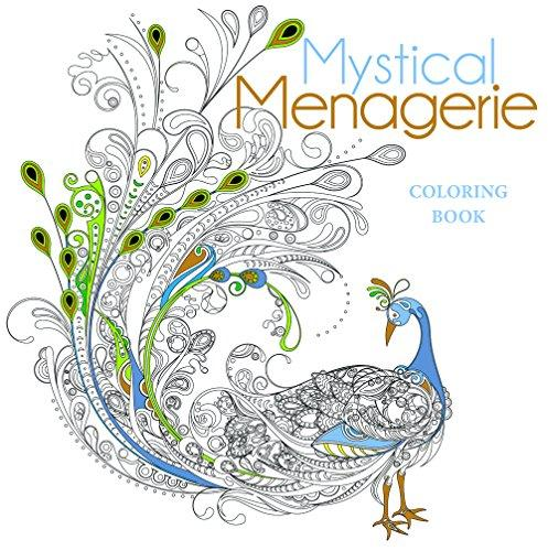 Mystical Menagerie Colouring Book