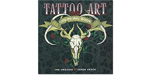 Tattoo Art Coloring Book: Ink