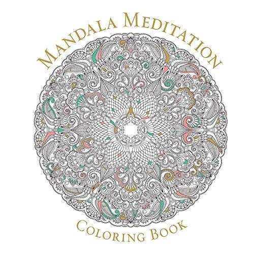 Mandala Meditation Coloring Bo