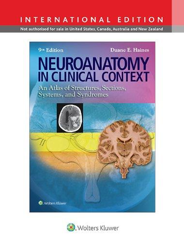 NEUROANATOMY IN CLINICAL CONTEXT (IE)