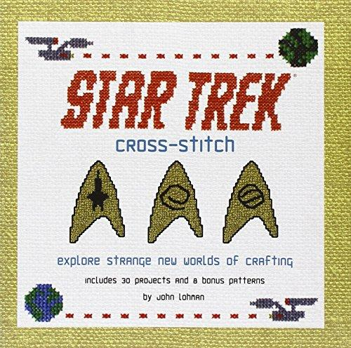Cross-Stitch: Explore Strange New Worlds Of Crafting (Star Trek)