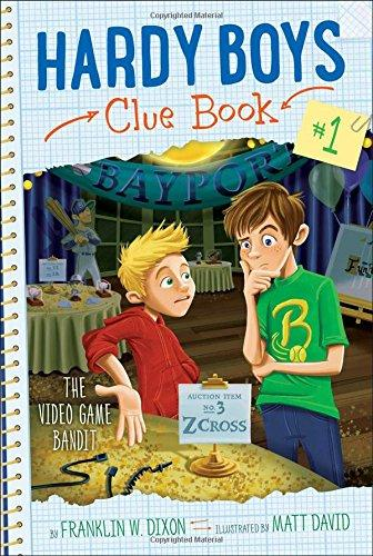 Hardy Boys Clue Book-Video Game Bandit