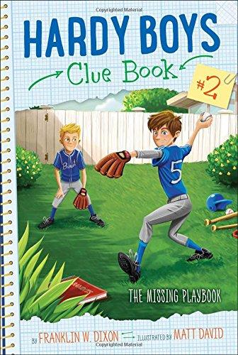 Hardy Boys Clue Book-Missing Playbook