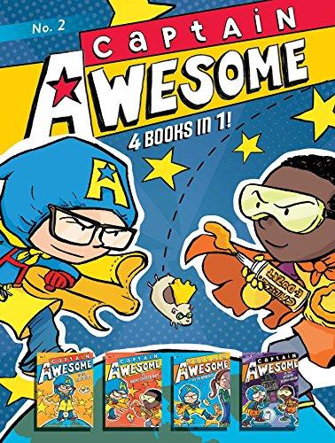CAPTAIN AWESOME 4 BOOKS IN 1! NO. 2
