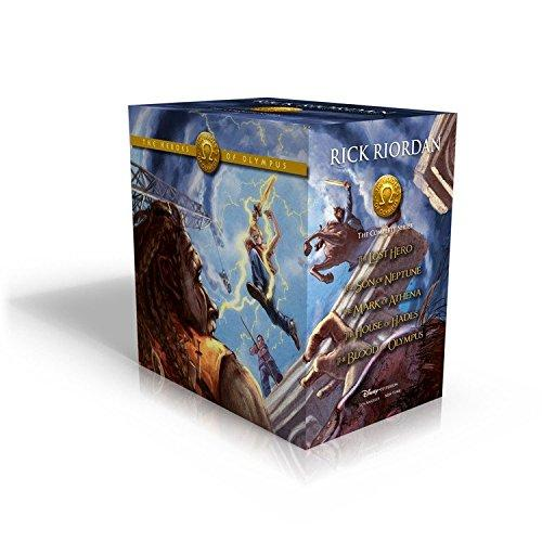 Heroes Of Olympus Set Of 5 Books
