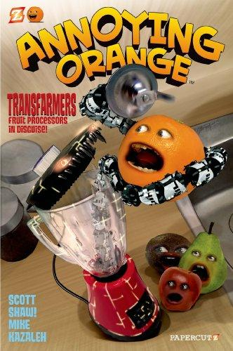 Annoying Orange Transfarmers Food Processors In Disguise