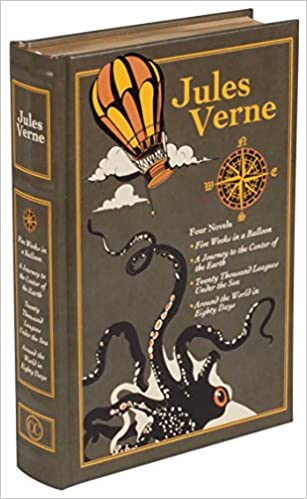 Jules Verne Leather Bound Classics