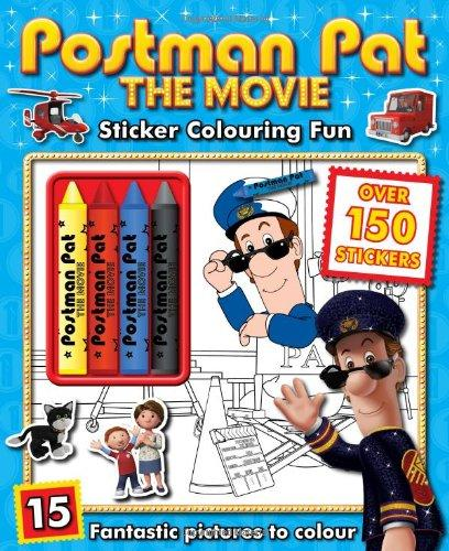 Postman Pat Sticker Coloring Fun Charater