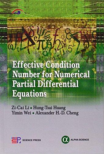 Effective Condition Number For Numberical Partial Different Equations