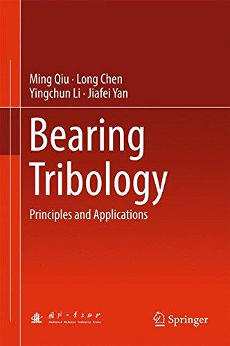 Bearing Tribiology- Principles And Applications