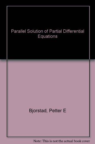 Parallel Solution Of Partial Differential Eq. (14)