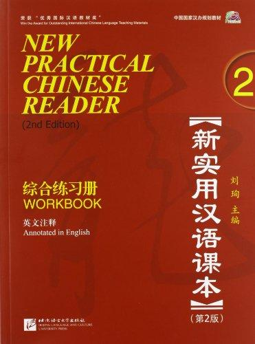 New Practical Chinese Reader - 2 Workbook