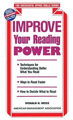 How To Improve Your Reading Power
