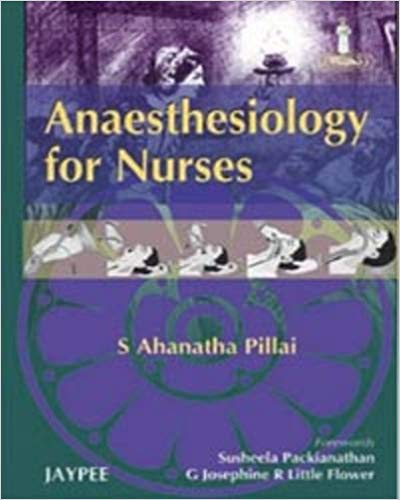 ANAESTHESIOLOGY FOR NURSES