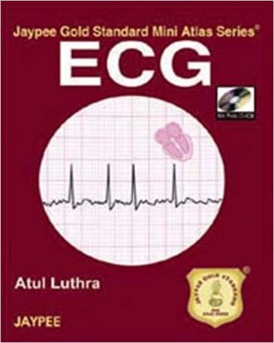 ECG JAYPEE GOLD STANDARD MINI ATLAS WITH PHOTO CD-ROM