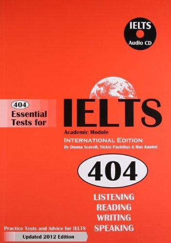 404 Essential Tests For Ielts Academic Module