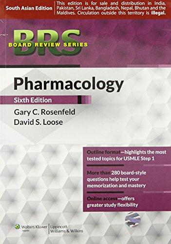 BRS PHARMOCOLOGY (WITH POINT ACCESS CODES )