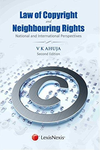 Law Of Copyright And Neighbouring Rights
