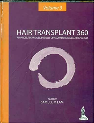 HAIR TRANSPLANT 360 VOL.3 ADVANCES, TECHNIQUES, BUSINESS DEVELOPMENT, AND GLOBAL PERSPECTIVES