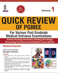 QUICK REVIEW OF PGMEE VOL.1 FOR VARIOUS P.G.MED.ENT.EXA.
