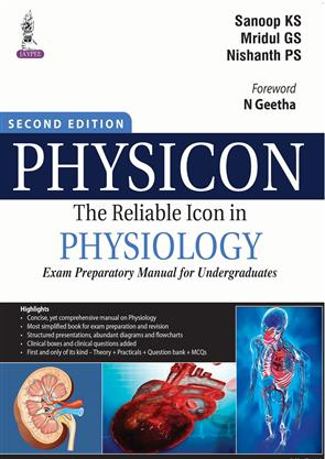 PHYSICON THE RELIABLE ICON IN PHYSIOLOGY EXAM PREPARATORY MANUAL FOR UNDERGRADUATES