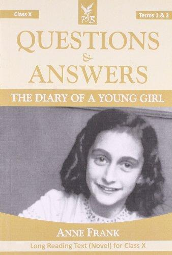 Q & A The Diary Of A Young Girl Terms 1