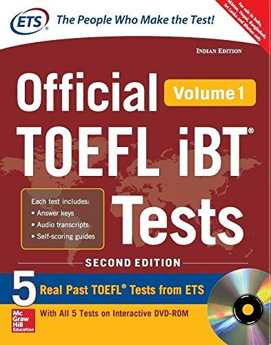 Official Toefl Ibt Test Vol. 1 With Cd