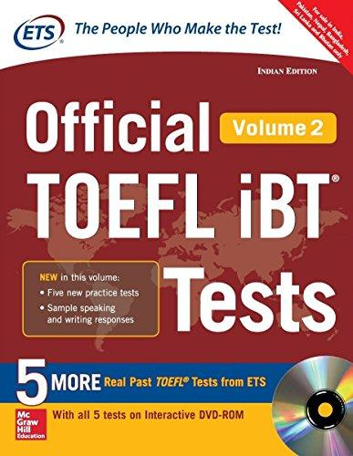 Official Toefl Ibt Tests Vol 2 W/Dvd