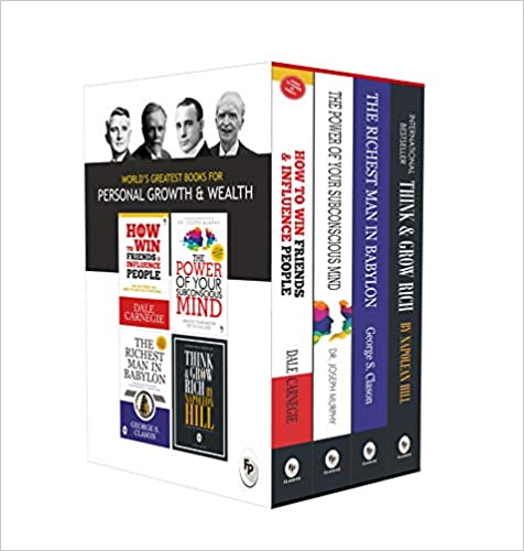 Worlds Greatest Pack For Personal Growth And Wealth (set Of 4 Books)